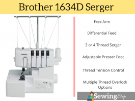 Brother 1634D Serger