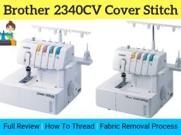 Brother 2340CV Cover Stitch