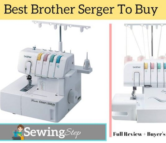 Best Brother Serger Sewing Machine Reviews
