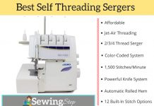 Best Self-Threading Serger Reviews