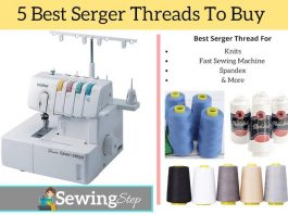 5 Best Serger Threads