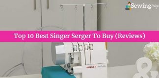 Top 10 Best Singer Serger Reviews
