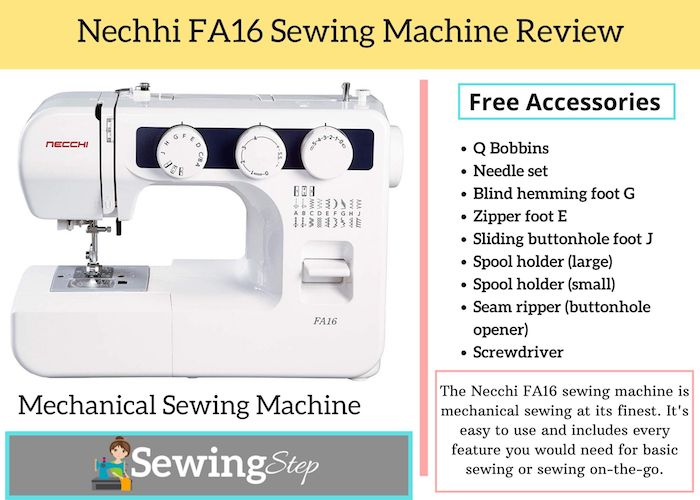 Nechhi FA16 Sewing Machine Reviews