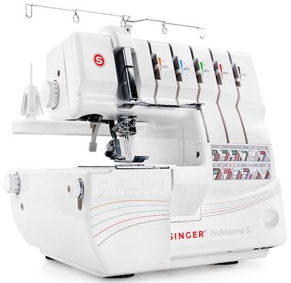 SINGER Professional 5 14T968DC Serger with 2-3-4-5 Threaded Cover Stitch