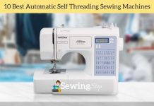Best Automatic Self Threading Sewing Machines Review