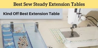 Best Sew Steady Sewing Machine Extension Table