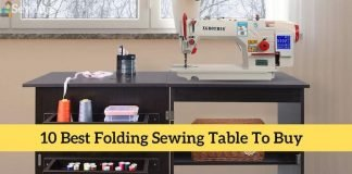 Best Folding Sewing Table Review