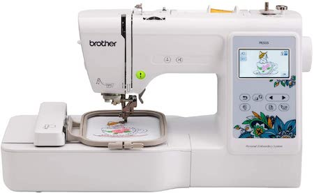 Brother PE535 Embroidery Machine, 80 Built-in Designs