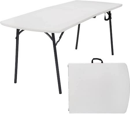 Cosco Products Diamond Series 300 lb. Weight Capacity Folding Table