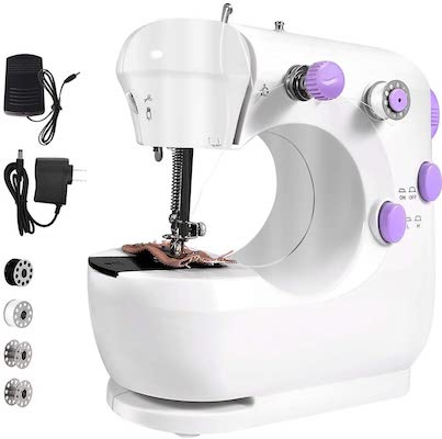 Mini Sewing Machine, Portable Electric Sewing Machine with Stitch Applications
