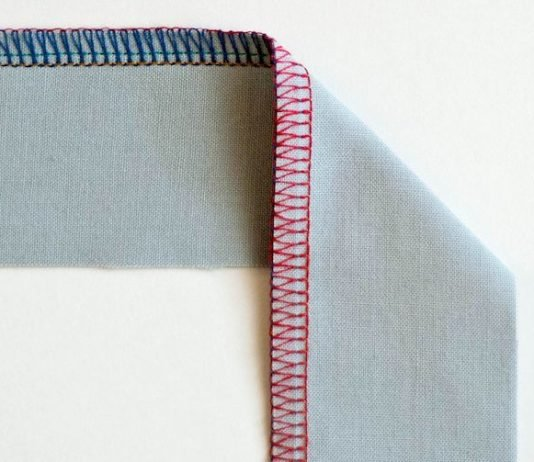Step-By-Step Guide to Sew Overlock Stitches